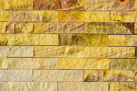cobblestone street: yellow tile texture