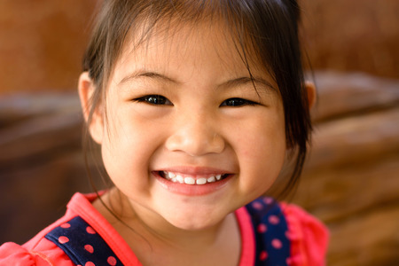 12 18 months: Little Girl Smiling