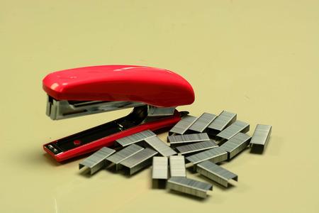 max: Max paper clip Stock Photo