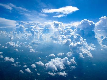 sky over Thailand Stock Photo