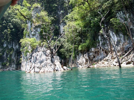 04 Mountain and Ratchapapa Dam, Thailand