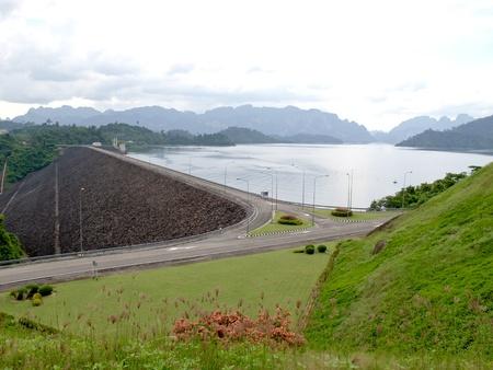 Ratchapapa Dam, Thailand Stock Photo