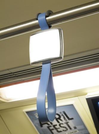 p.o.p in Thailand subway Stock Photo