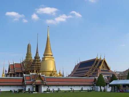 The Grand palace in Bangkok, Thailand Stock Photo