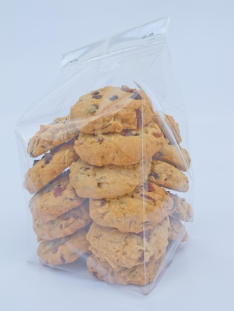 A bag full of cookies that looks good. Stock fotó
