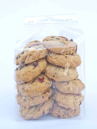 A bag full of cookies that looks good. Stock Photo