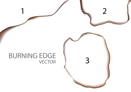 burning edge Stock Vector - 17817718