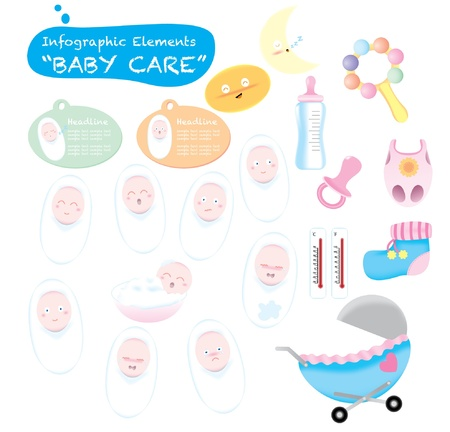 baby care Stock Vector - 18289286