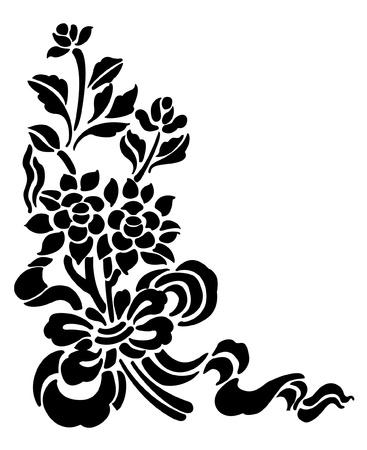 Tattoo of lotus Stock Vector - 18422931