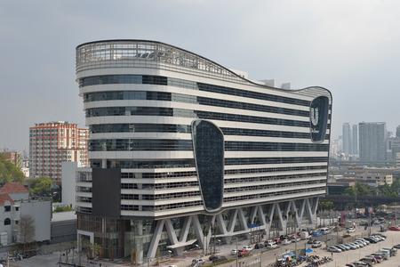 Új épület, a Unilever építve Rama 9 utcán. Sajtókép