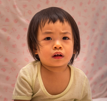 asian toddler: Asian toddler girl