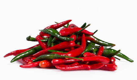 Type of very spicy chilli of Thailand. Stock Photo