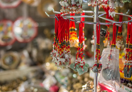 one of a kind: One kind of Holy necklaces in Asian Culture.