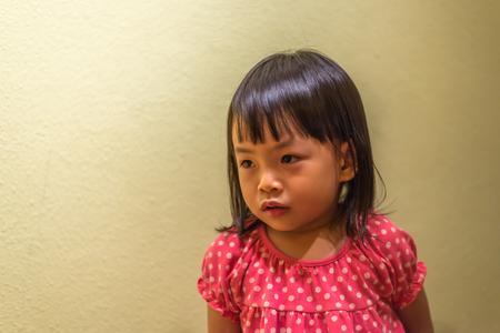Asian toddler girl