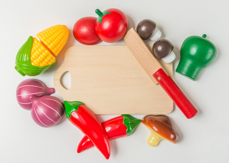 Food wooden toy for children