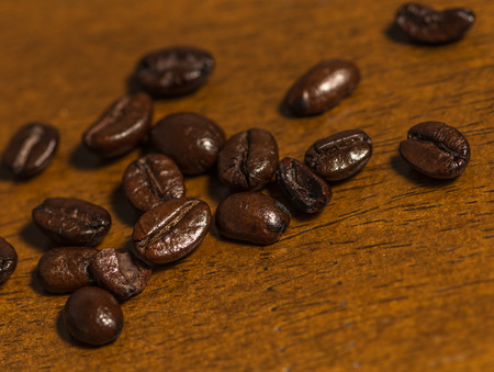 Close up of coffee bean Stock Photo