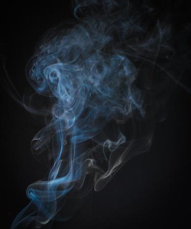 Beautiful of smoke movement as art