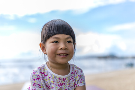 dept: Thai - Chinese Little Girl at 3.7 years old