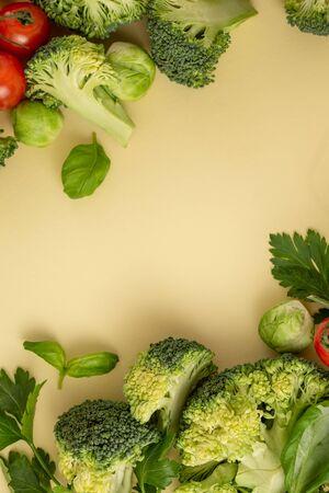 Pattern vegetables concept