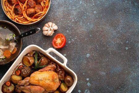 Tasty homemade meals