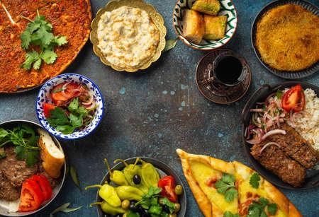 Turkish traditional food Standard-Bild