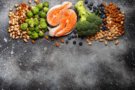 Food for healthy brain Imagens