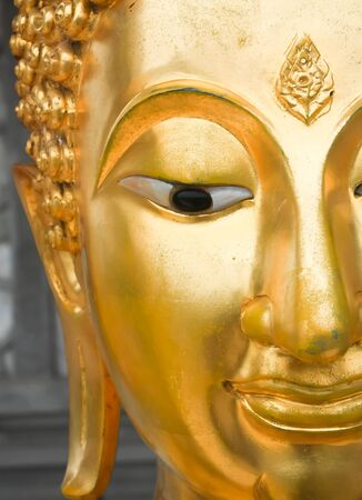 dalai: half of buddha  s face