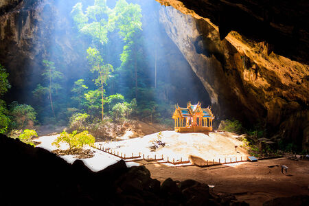 pavillion of the king in Phrayanakorn cave,Sam roi yot Nationpark ,Thailand photo
