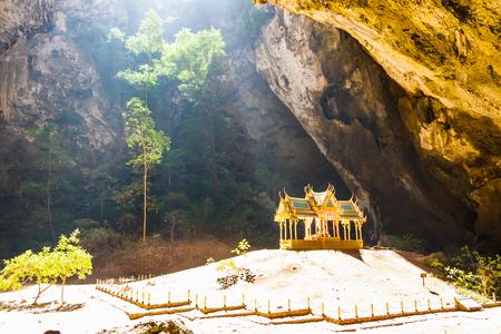 pavillion: pavillion of the king in Phrayanakorn cave,Sam roi yot National park ,Thailand