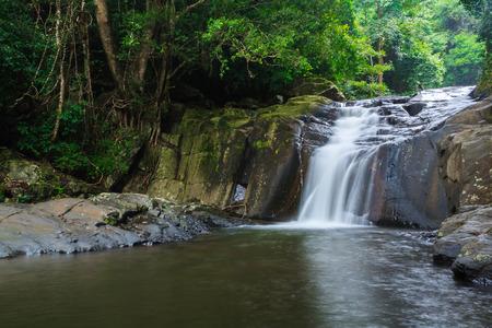palau: fourth level of Pa-la-u waterfall,Hua-hin,Thailand
