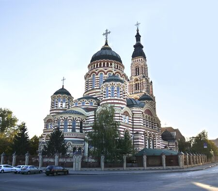 annunciation: Annunciation Cathedral in Kharkov, Ukraine Stock Photo