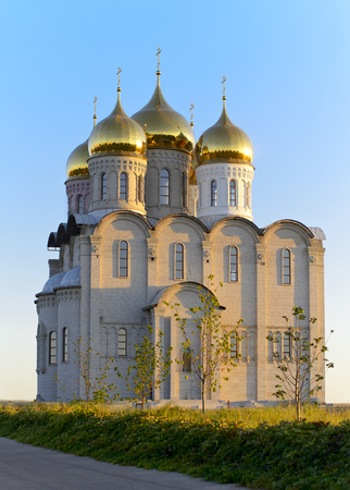 holiness: Temple of the Blessed Mother Matrona of Moscow