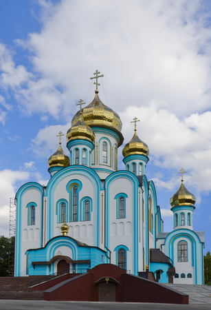 vladimir: St. Vladimir Church, Kharkiv Stock Photo