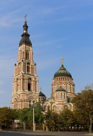 annunciation: Annunciation Cathedral, Kharkov Stock Photo