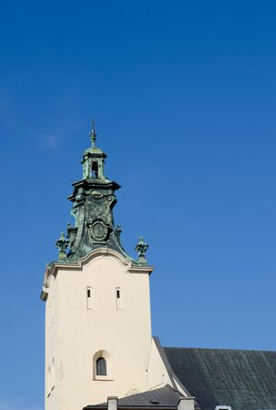templo romano: The bell tower of the Cathedral of the Assumption of the Virgin Mary (Latin Cathedral)
