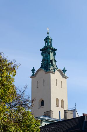 church dome: The bell tower of the Cathedral of the Assumption of the Virgin Mary (Latin Cathedral)
