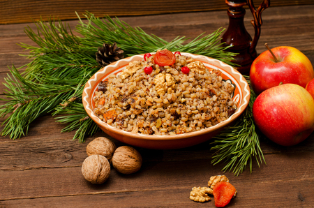 Kutya. The traditional Christmas meal in Ukraine, Belarus and Poland.