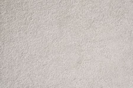 Gładka bezszwowa tekstura ręcznika frotte. biały kolor