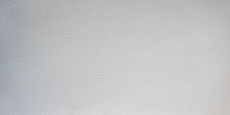 Light gray leather smooth surface. Backgrounds and textures. Banco de Imagens