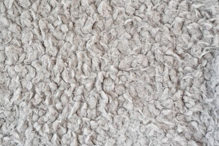 Textural gray background, faux fur.