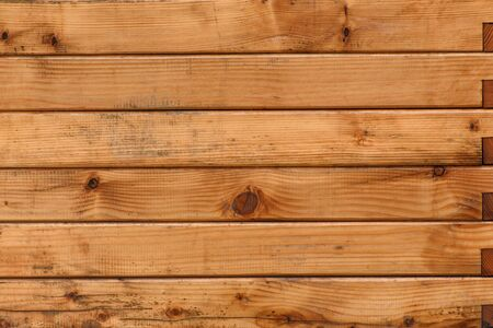 Brown old wooden boards. Natural background