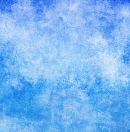 blue grunge background: grunge background with space for text Stock Photo