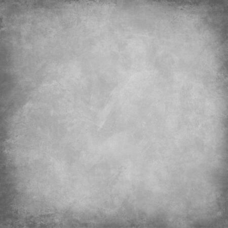 metalic design: bright gray background with abstract highlight corner and vintage grunge background texture Stock Photo
