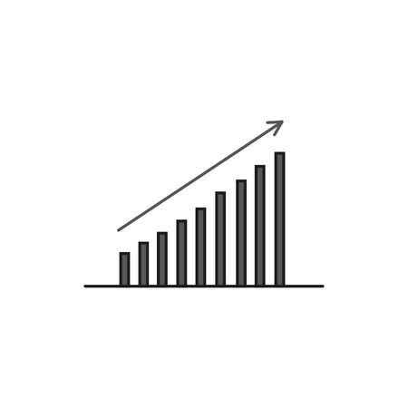 Bar chart. Business Icon
