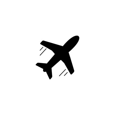 airplane vector icon on white background 版權商用圖片 - 140276319