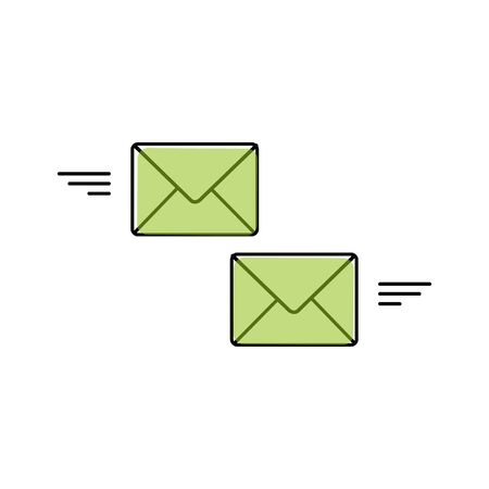 Mail send vector icon. Vector 版權商用圖片 - 140261767