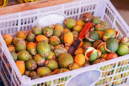 Areca nut to sell the market . Imagens