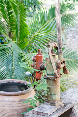 old water pump in thailand