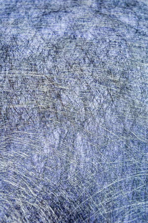 field depth: abstract fiber with depth of field