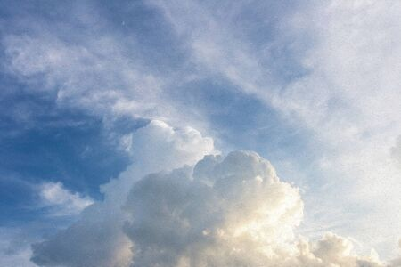 techniek: abstracte wolken en lucht (digitale verf techniek olieverf) Stockfoto